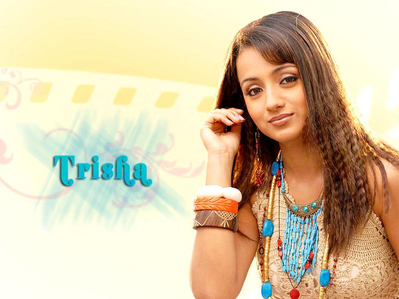 Tamil Cinema Wall paper Trisha