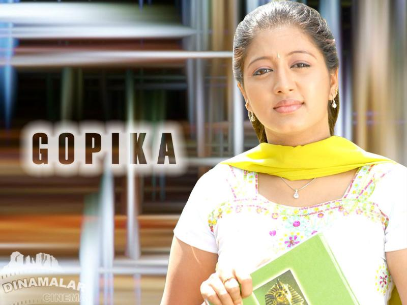 Tamil Cinema Wall paper Gopika