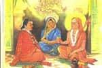 சரஸ்வதி முன்னிலையில் வாதம் செய்தல்